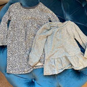 Bundle: Baby Gap top and Old Navy dress